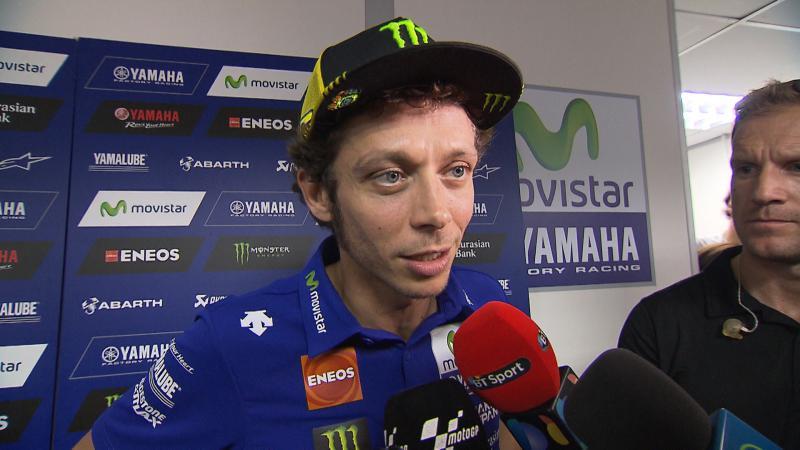 Rossi cho biet Toi hoan toan khong co y dinh dap nga xe anh ay nhung