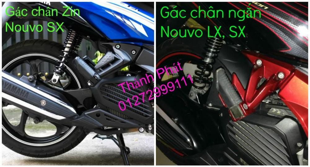 So gay gac chan sau cho Ex150 Ex2011 MSX125 FZ150i Raider KTM DukeUp 1192015 - 23