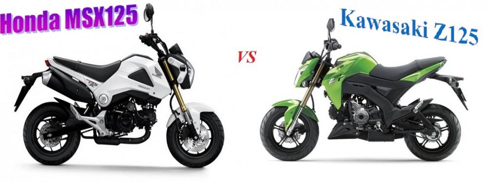 So sanh Honda MSX 125 Kawasaki Z125 - 3