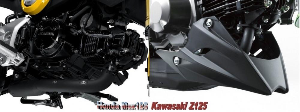 So sanh Honda MSX 125 Kawasaki Z125 - 15