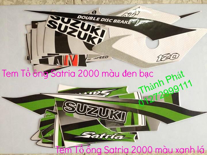 Chuyen phu tung zin Su Xipo Satria YA Z125 date 1997 2013 Gia tot update thang 1 2014 - 30