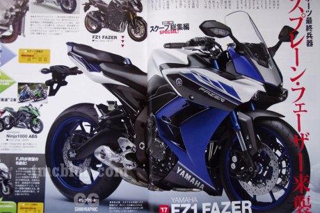 Tiep tuc lo anh cua Yamaha Fz1 Fazer tai Nhat Ban - 2