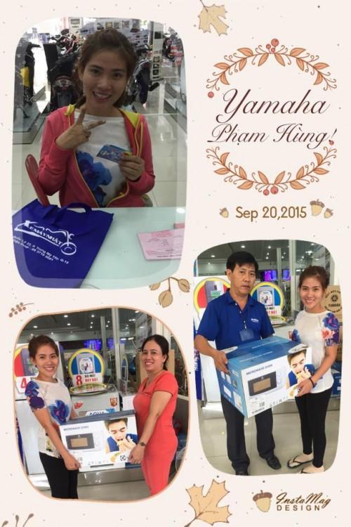 Tung bung khai truong Yamaha Pham Hung - 9