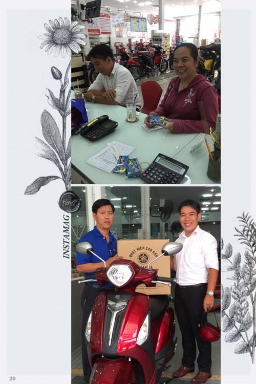 Tung bung khai truong Yamaha Pham Hung - 13