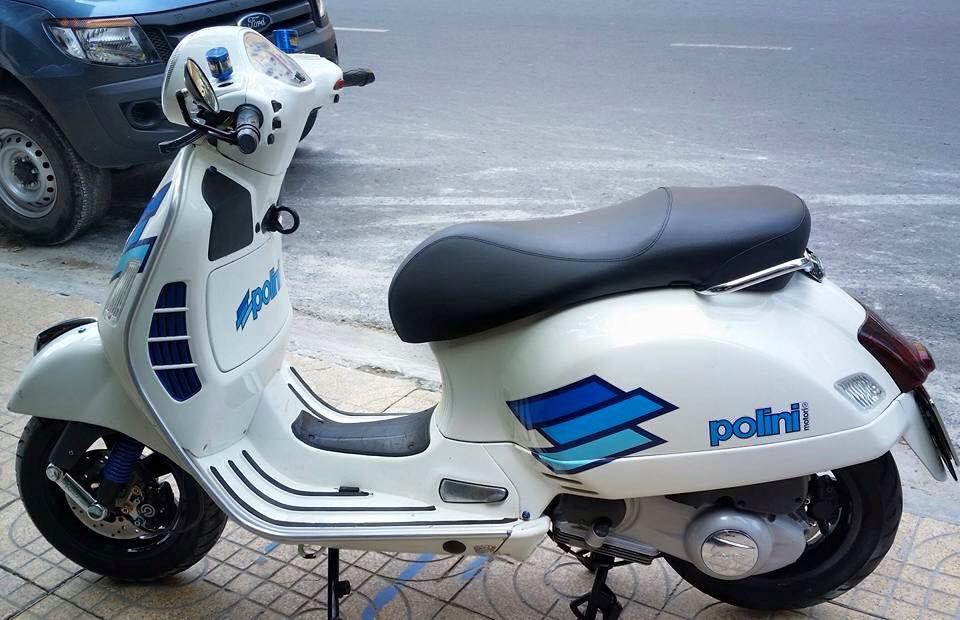 Vespa GTS do phong cach Pollini