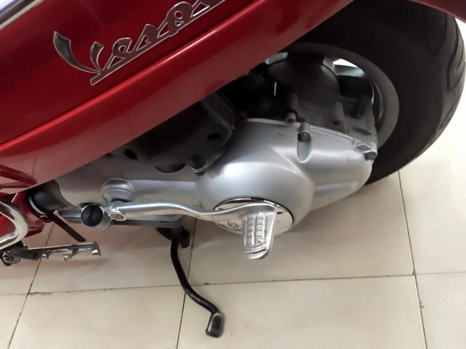 Vespa LX 125cc xe nhap y mau do bstp 7 nut - 3