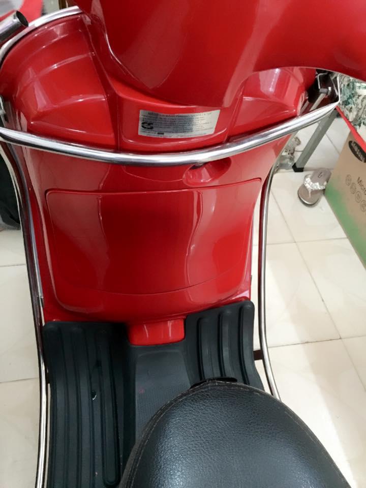 Vespa LX 125cc xe nhap y mau do bstp 7 nut - 4