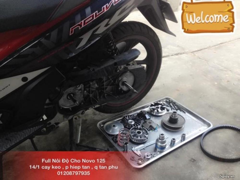 Chuyen Do Noi Xe Tay Ga Full Noi Noi Zin Bao Duong Ve Sinh Noi Cho Yamaha Honda Piago - 23