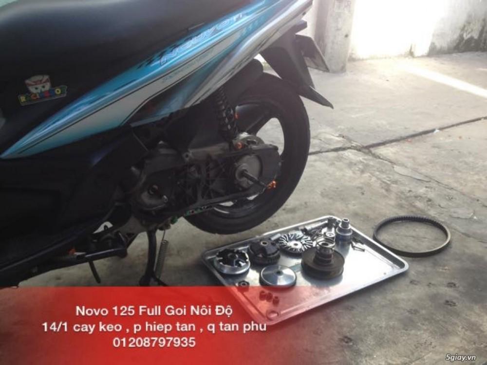 Chuyen Do Noi Xe Tay Ga Full Noi Noi Zin Bao Duong Ve Sinh Noi Cho Yamaha Honda Piago - 22