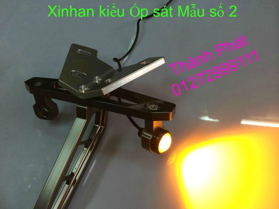 Xinhan kieu Rizoma Barracuda OXFORD cho xe PKL va xe Nho Den LED kieu den Xenon Domi Bong OSR - 4