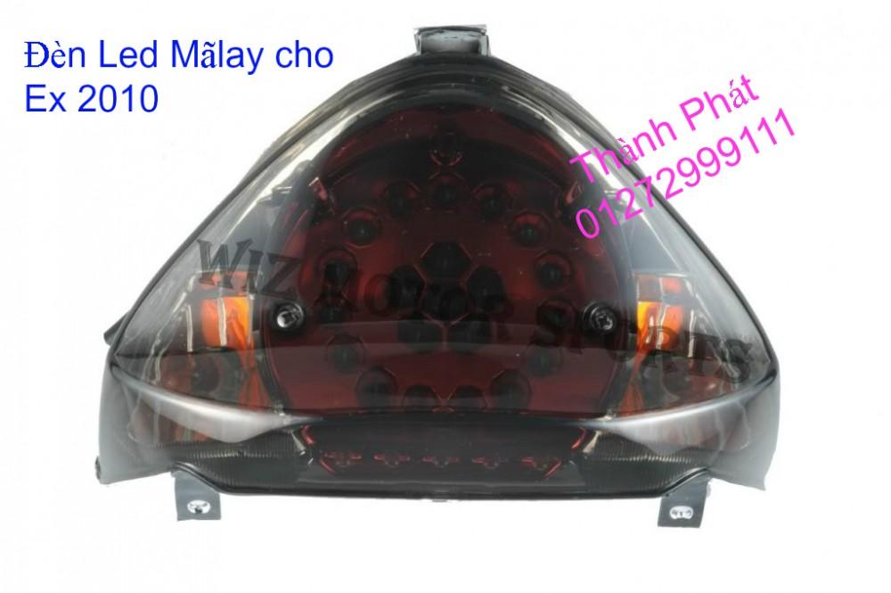Xinhan kieu Rizoma Barracuda OXFORD cho xe PKL va xe Nho Den LED kieu den Xenon Domi Bong OSR - 13