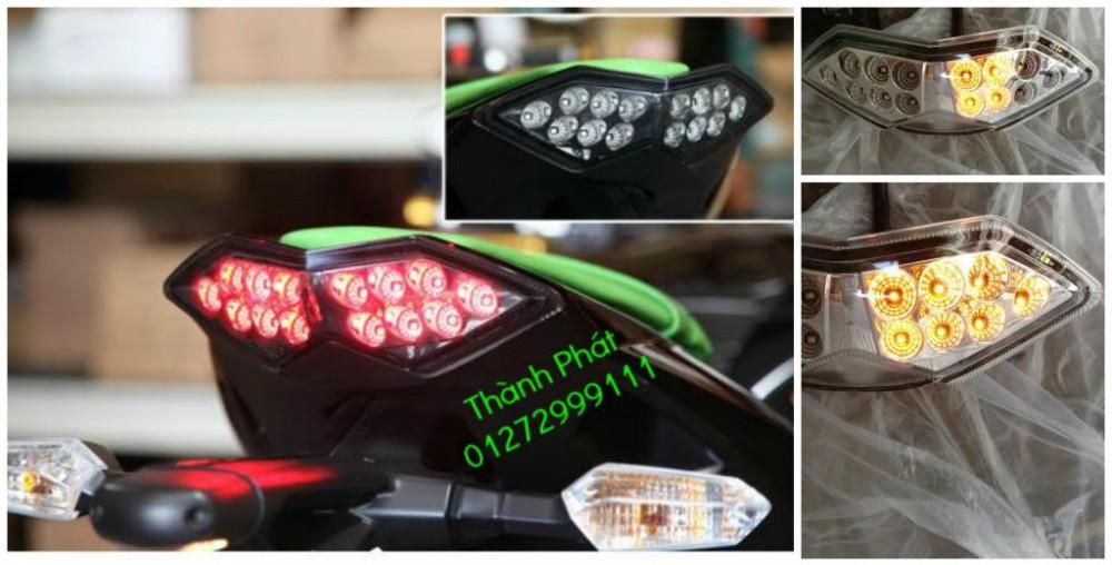 Xinhan kieu Rizoma Barracuda OXFORD cho xe PKL va xe Nho Den LED kieu den Xenon Domi Bong OSR - 23