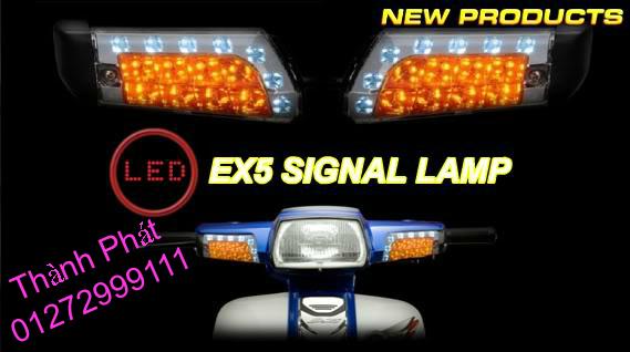 Xinhan kieu Rizoma Barracuda OXFORD cho xe PKL va xe Nho Den LED kieu den Xenon Domi Bong OSR - 14