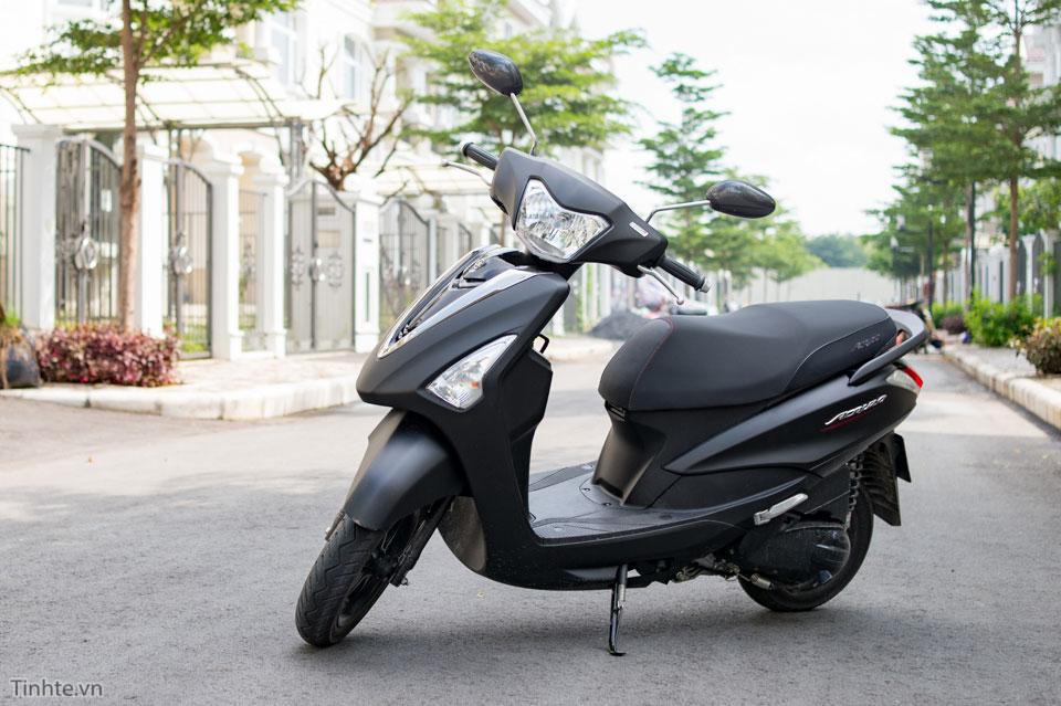 Yamaha Acruzo dat muc tieu hao nhien lieu ky luc 599 kmlit