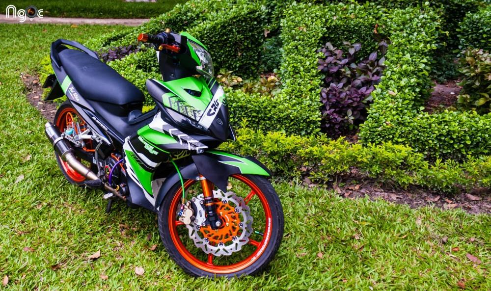 Yamaha Exciter do noi bat voi dan do choi kieng