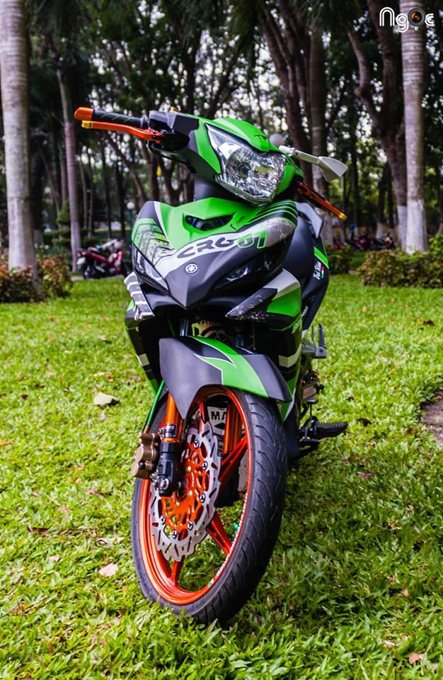 Yamaha Exciter do noi bat voi dan do choi kieng - 2