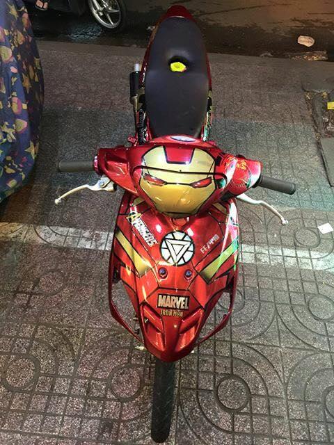 Yamaha mio lot xac voi phien ban Iroman dep lung linh - 4