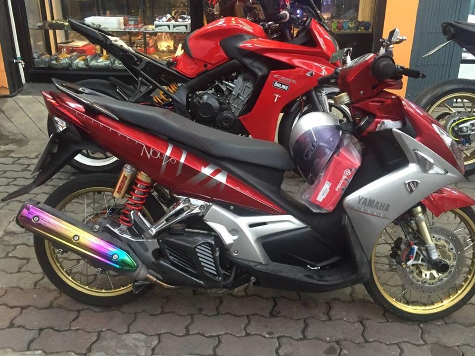 Yamaha Nouvo 4 do don gian nhung khong he don gian