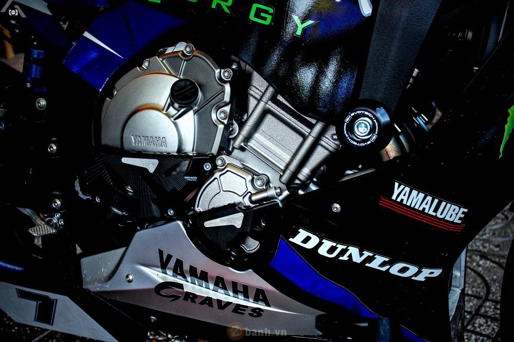 Yamaha R1 2015 phien ban GP Monster Energy - 7