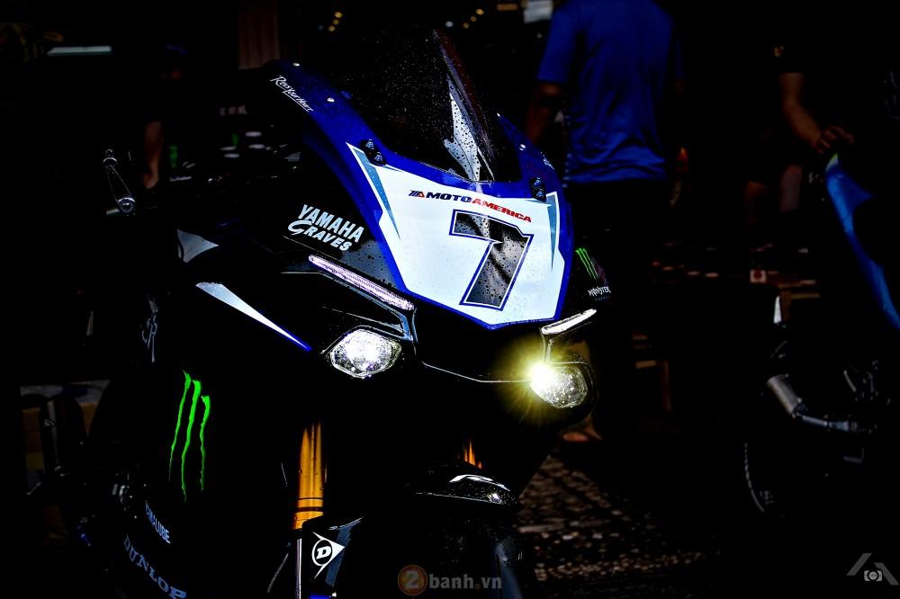 Yamaha R1 2015 phien ban GP Monster Energy - 17