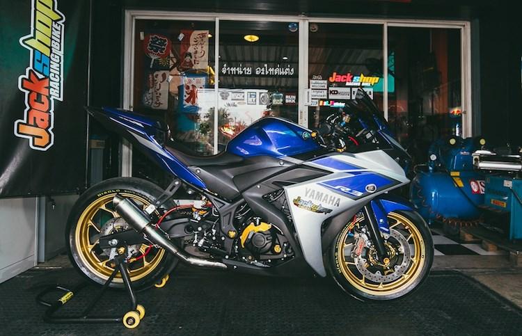 Yamaha R3 do chat lu voi nhung phu kien hang hieu tai Thai - 15