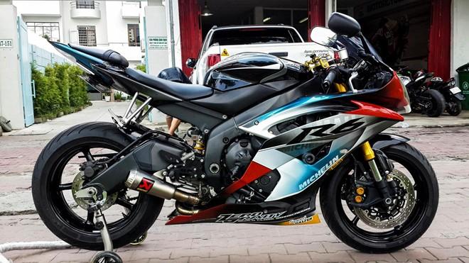 Yamaha R6 son tem dau la ma doc cua biker An Giang - 3