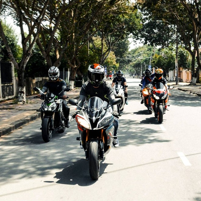 Yamaha R6 son tem dau la ma doc cua biker An Giang - 5