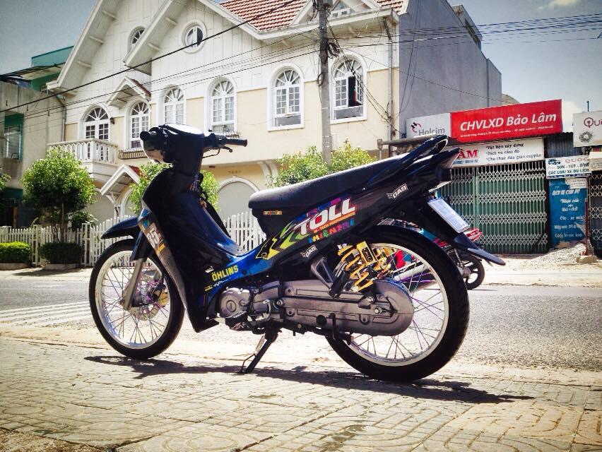 Yamaha sirius do leng keng duoi nang - 2