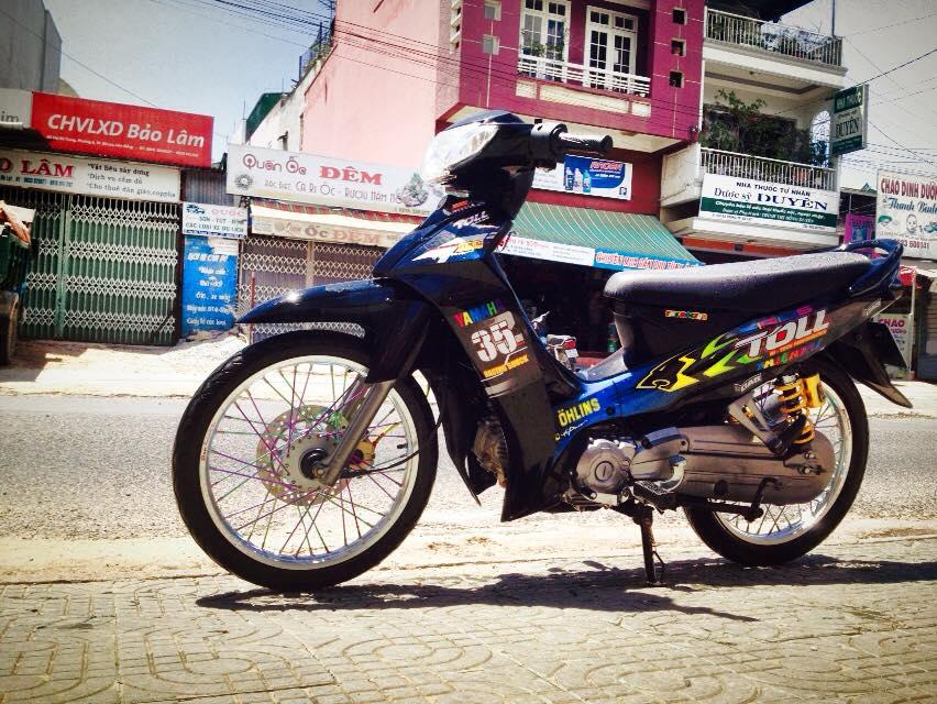 Yamaha sirius do leng keng duoi nang - 3