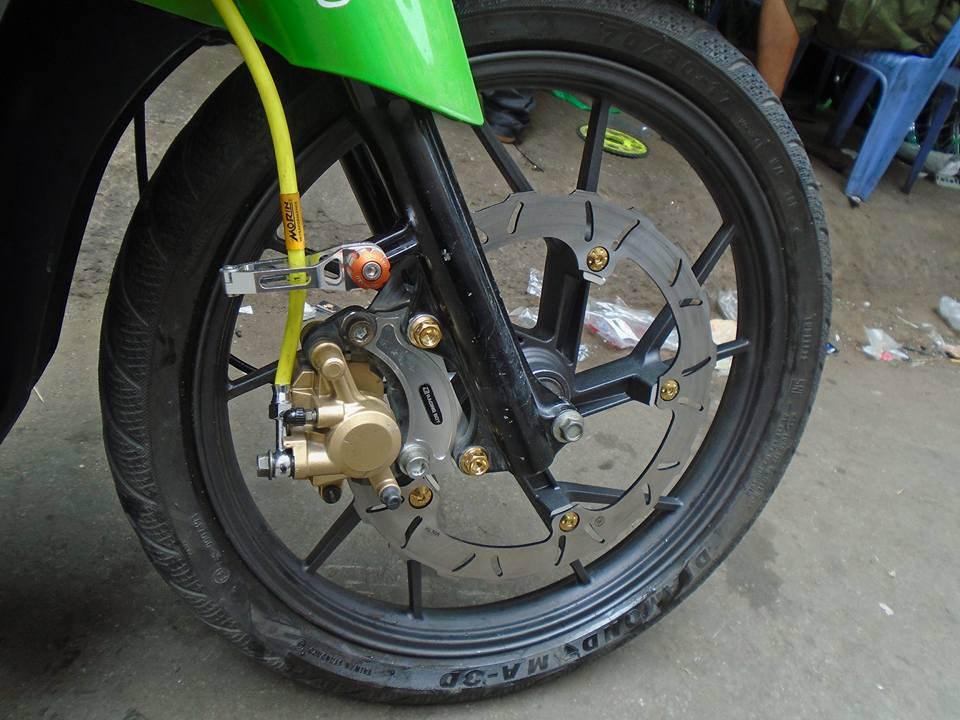 Yamaha sirius qua noi cung phien ban Heineken - 5