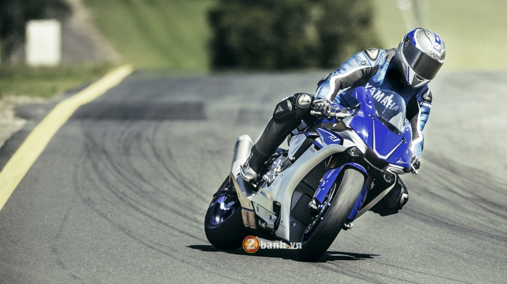 Yamaha tung ra Yamaha R1 2016 tai Chau Au
