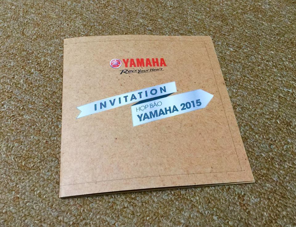 Yamaha Viet Nam gui thu moi chuan bi ra mat xe moi