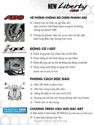 Ban xe Liberty ABS new Gop khong lai suatHung 0937868119