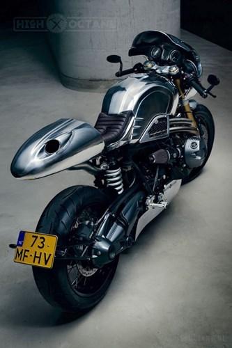 BMW R nine T do Cafe racer choi loa voi phien ban Crom tai EICMA 2015 - 5