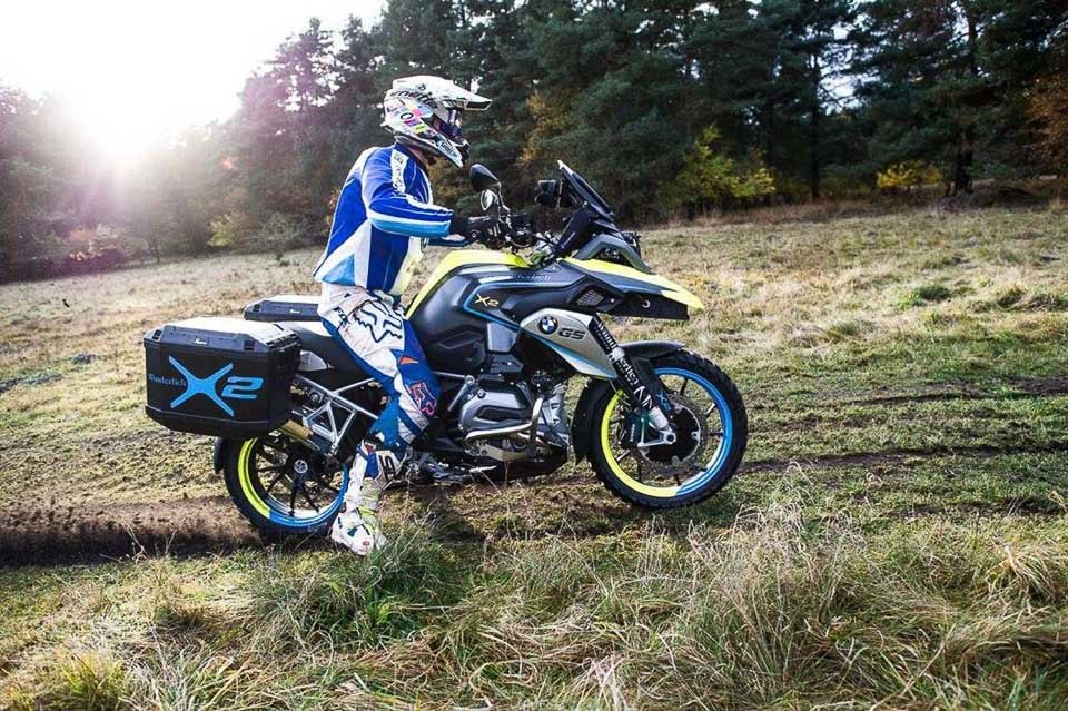 BMW R1200GS LC do dan dong 2 banh tai Wunderlich