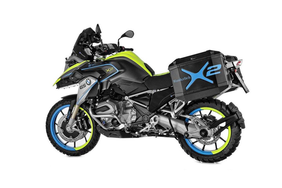 BMW R1200GS LC do dan dong 2 banh tai Wunderlich - 2