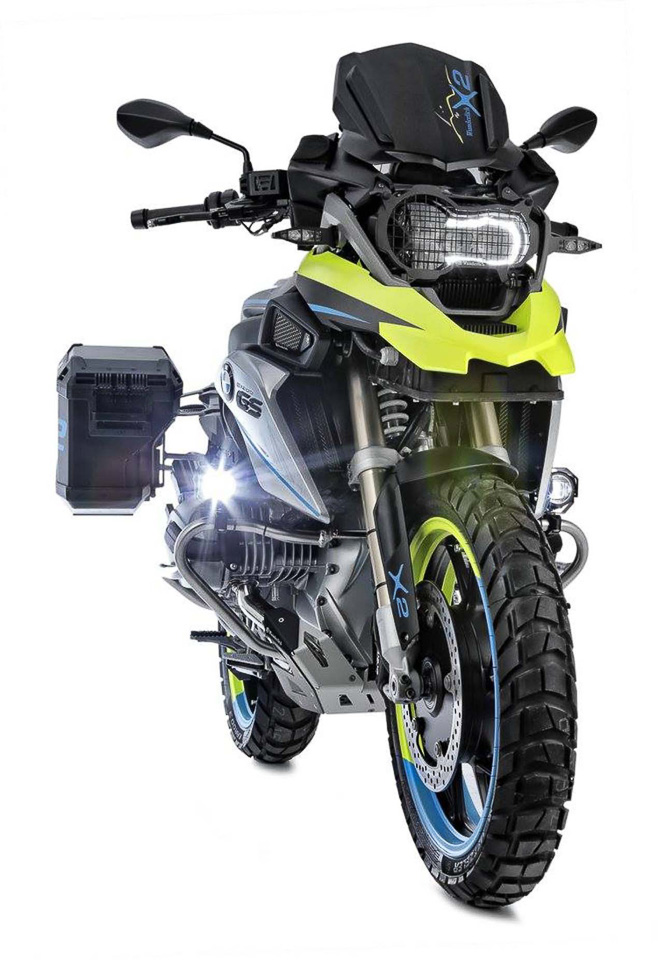 BMW R1200GS LC do dan dong 2 banh tai Wunderlich - 3