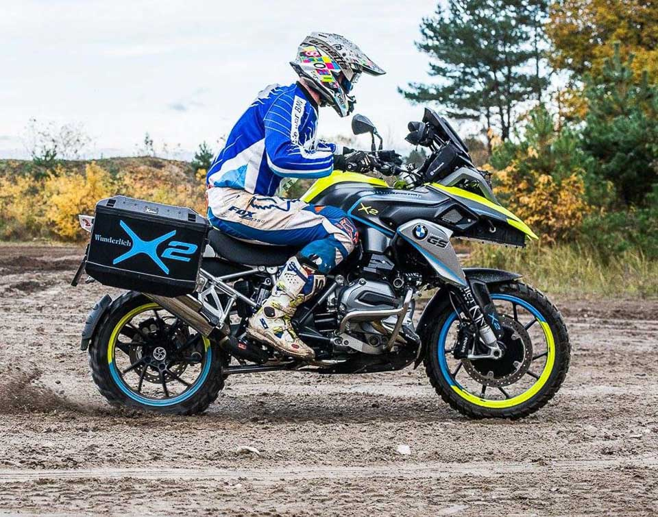 BMW R1200GS LC do dan dong 2 banh tai Wunderlich - 7