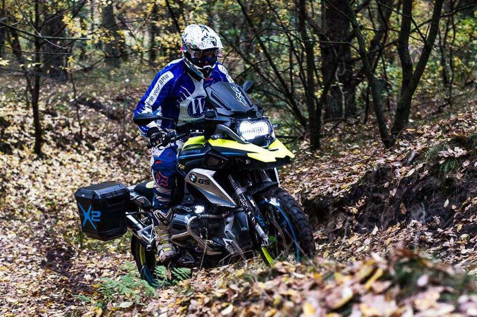 BMW R1200GS LC do dan dong 2 banh tai Wunderlich - 8