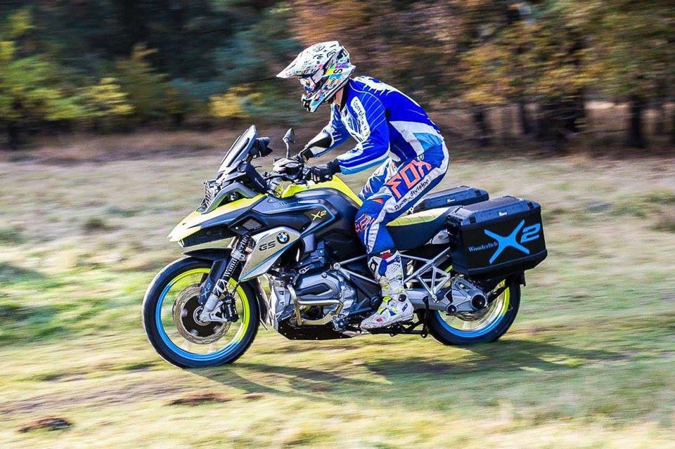 BMW R1200GS LC do dan dong 2 banh tai Wunderlich - 9