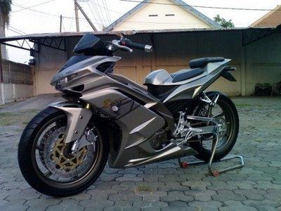 Bo anh exciter do dep cua biker Indonesia - 12