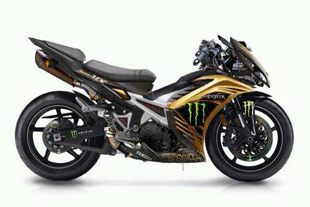 Bo anh exciter do dep cua biker Indonesia - 2