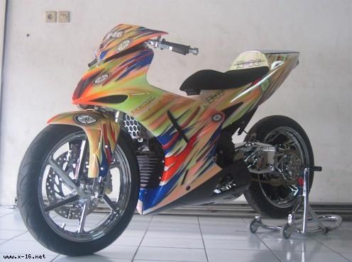Bo anh exciter do dep cua biker Indonesia - 3