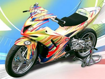 Bo anh exciter do dep cua biker Indonesia - 9
