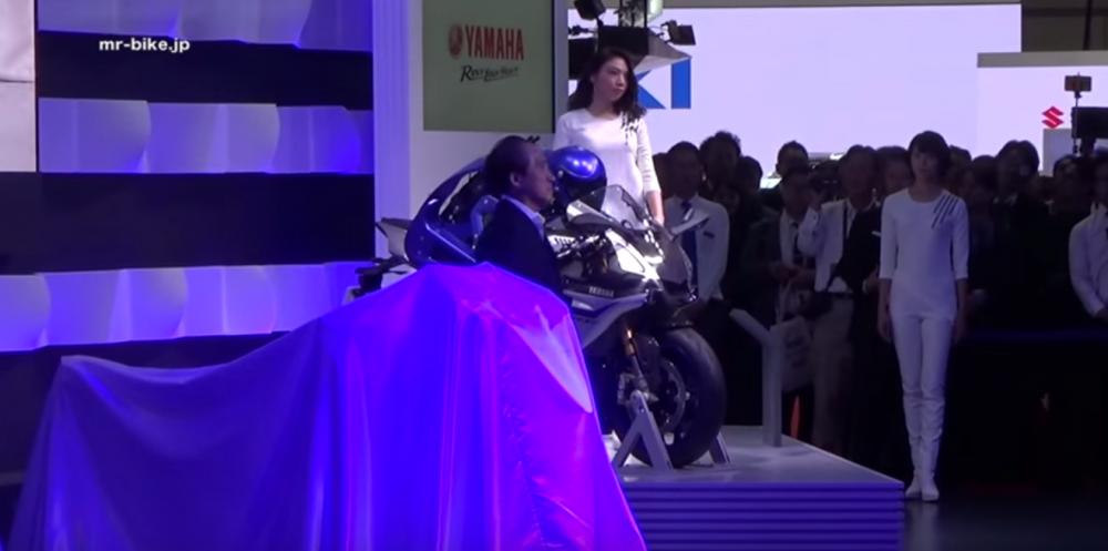 Clip Buoi le khai mac sap Yamaha tai Tokyo Motor Show 2015