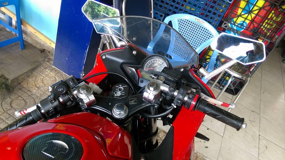 Can ban moto CBR 150i Thai Lan mau do - 2