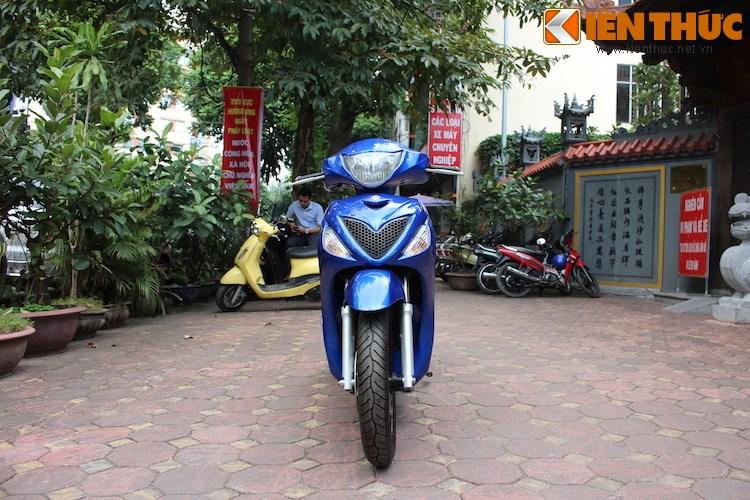 Can canh Suzuki Sixteen doi thu cua Honda SH vua ve den Viet Nam - 2