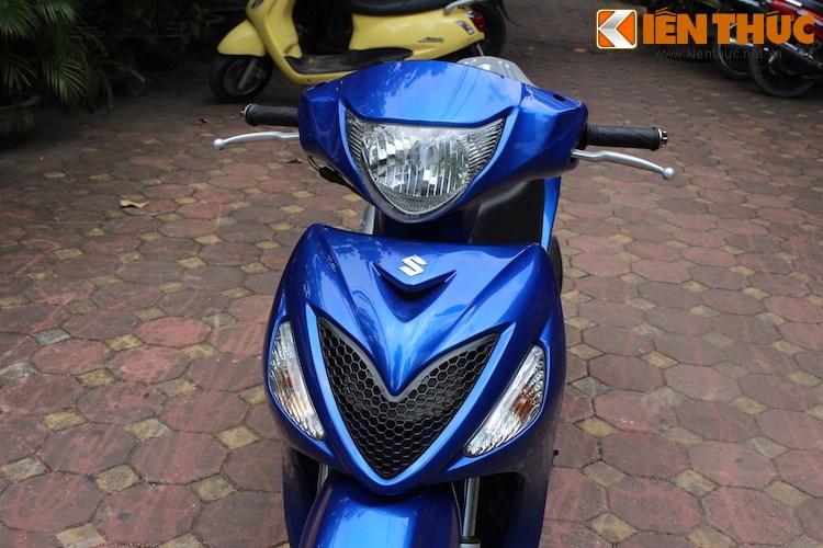 Can canh Suzuki Sixteen doi thu cua Honda SH vua ve den Viet Nam - 3