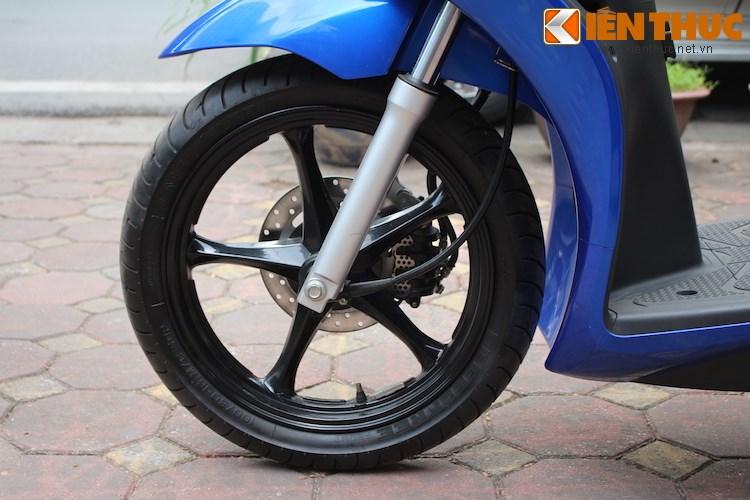 Can canh Suzuki Sixteen doi thu cua Honda SH vua ve den Viet Nam - 4