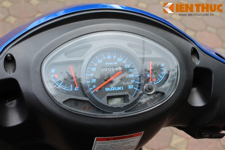Can canh Suzuki Sixteen doi thu cua Honda SH vua ve den Viet Nam - 5